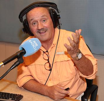 Brendan O'Carroll will be sitting in for Marian Finucane this weekend on RTÉ Radio 1. Picture: Brian McEvoy