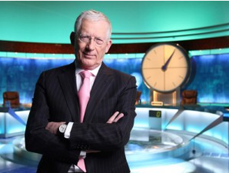 Countdown host Nick Hewer.
