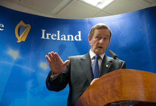 Taoiseach Enda Kenny. Photo: Peter Cavanagh