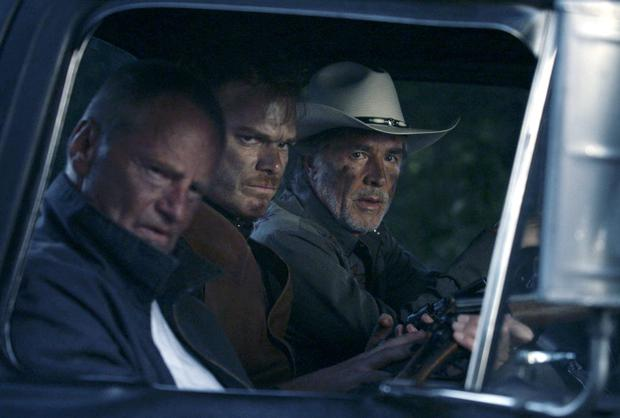 Baddie-Hunting: Don Johnson, Sam Shepard and Michael C. Hall in 'Cold in July' adapted from Joe R Lansdale's novel