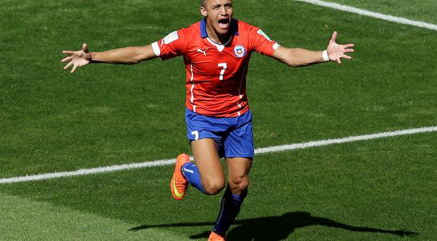 Chile's Alexis Sanchez