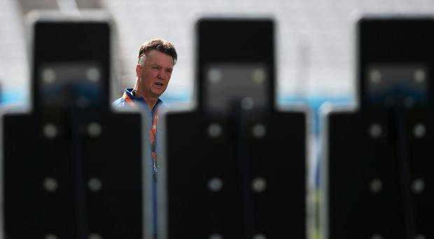 Louis Van Gaal: 'If there is no discipline off the pitch, there is none on it.' Photo: Dean Mouhtaropoulos/Getty Images