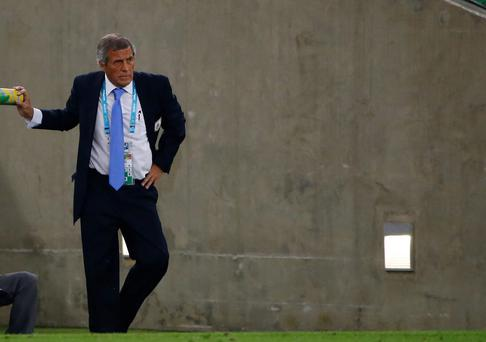 Uruguay's coach Oscar Tabarez refused to accept that the Luis Suarez controversy was the reason Uruguay bowed out of the World Cup at the hands of Colombia