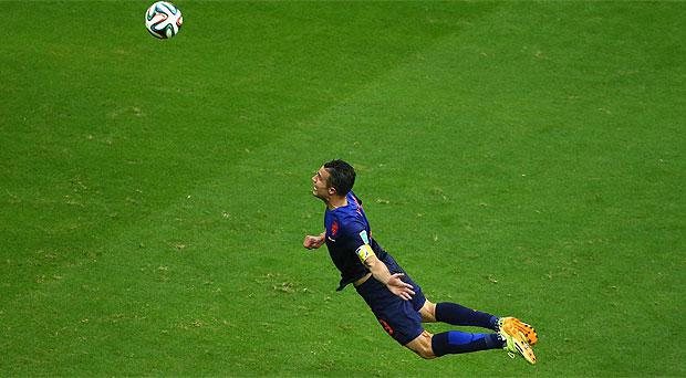 The offer was reportedly inspired by Robin Van Persie's famous header against Spain