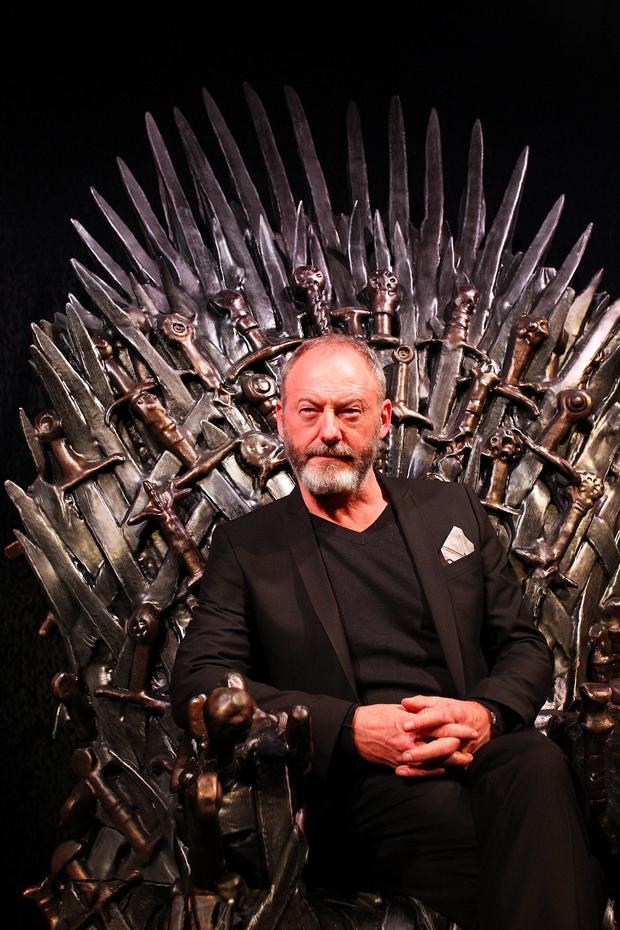 Liam Cunningham arrives at the launch of the Game Of Thrones Exhibition at the Museum of Contemporary Art on June 30, 2014 in Sydney, Australia. (Photo by Lisa Maree Williams/Getty Images)