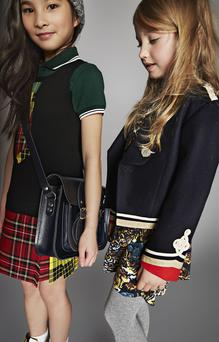 Junior Gaultier Dress. Fred Perry Polo Scotch R'Belle Beanie, Zatchels Satchel Fendi High Tops; Kenzo Dress Stella McCartney Blazer Fred Perry Shirt.