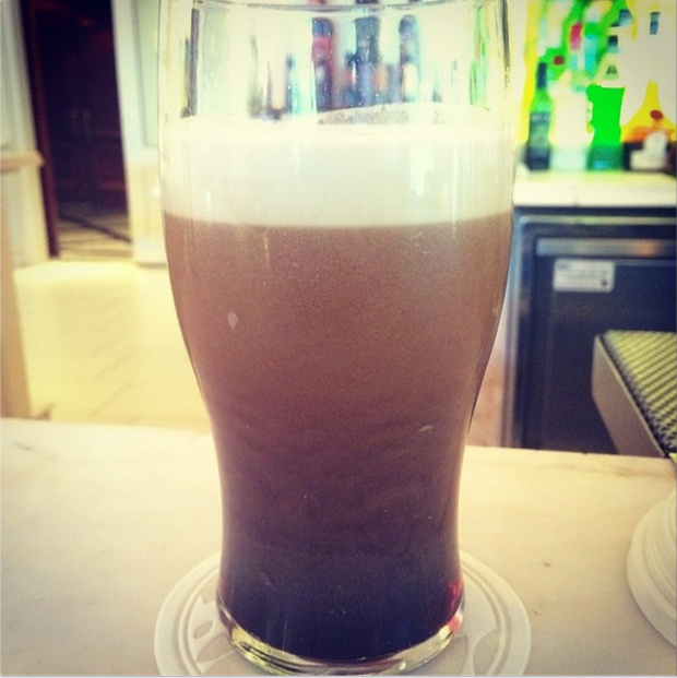 Kings of Leon's Jared Followill posted a pic of a pint of Guinness on Instagram