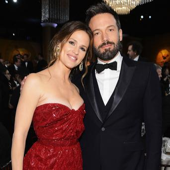 Ben Affleck with is wife Jennifer Garner to whom he has been married for 10 years