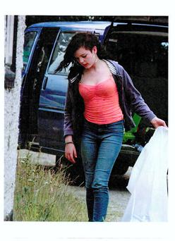 Gardai are appealing to the public for assistance in tracing the whereabouts of 14-year-old Teigan Mellor who is missing from her home at Fontstown, Athy, Co. Kildare since Monday 30th June 2014.