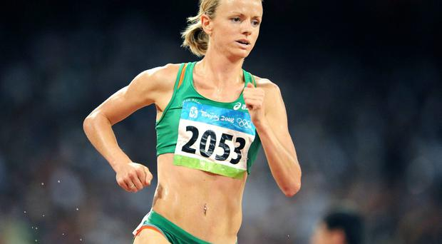 Irish steeplechase record holder, Roisin McGettigan. Picture credit: Brendan Moran / SPORTSFILE
