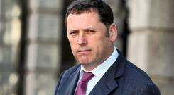 Fianna Fail's Barry Cowen. Picture: Tom Burke