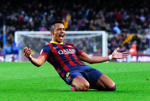 Alexis Sanchez of FC Barcelona could be on his way to Liverpool (Photo by David Ramos/Getty Images)