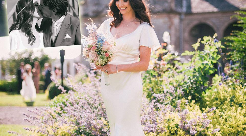 Jennifer Maguire pictured at her wedding. Photo: Alex Hutchinson and Harris PR