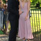 Bradley Cooper and Suki Waterhouse attend the annual Serpentine Galley Summer Party