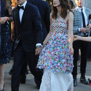 Keira Knightley and James Righton attend the annual Serpentine Galley Summer Party