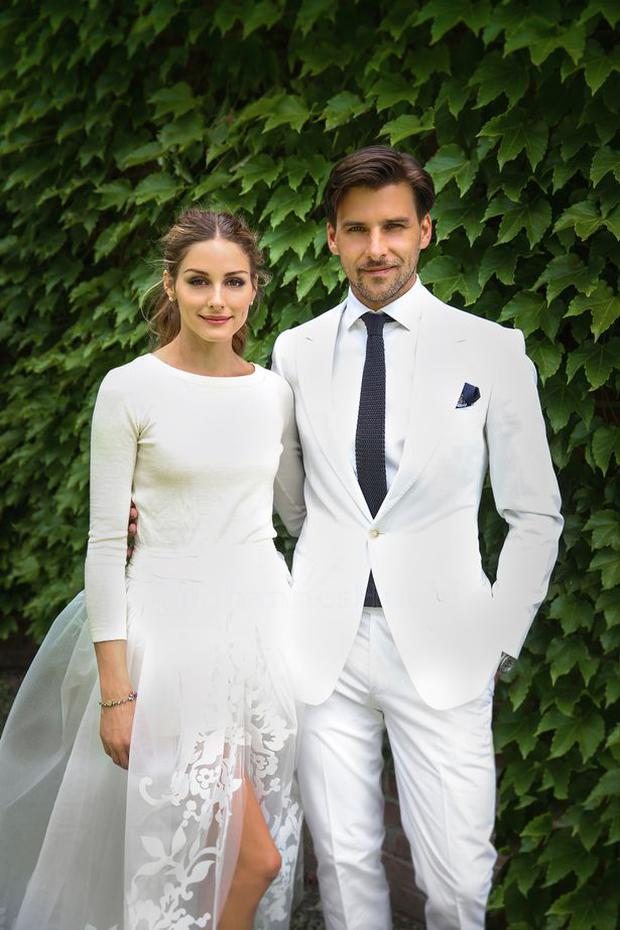 Olivia Palermo wed fellow model Johannes Huebl in a secret ceremony