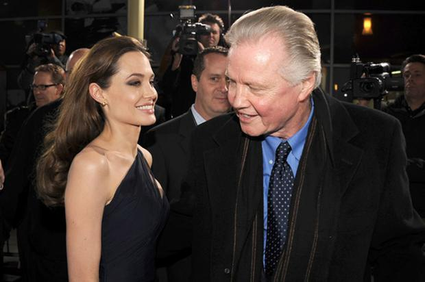 Angelina Jolie's father Jon Voight has tweeted his support for Donald Trump