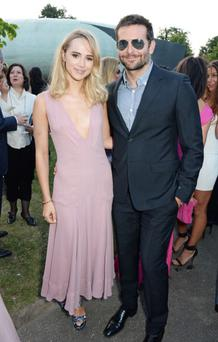 Suki Waterhouse and Bradley Cooper attend The Serpentine Gallery Summer Party