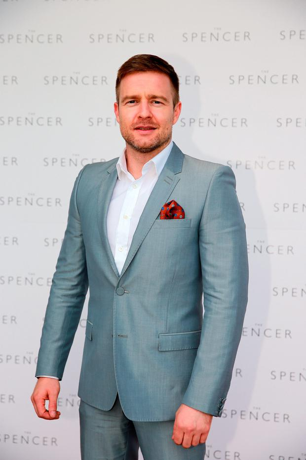 Aidan Power at the opening of the Spencer Hotel in Dublin. Picture: Arthur Carron