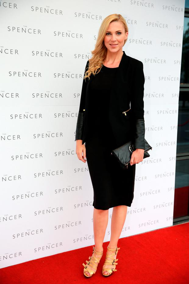 Sarah McGovern Vaughan at the opening of the Spencer Hotel in Dublin. Picture: Arthur Carron