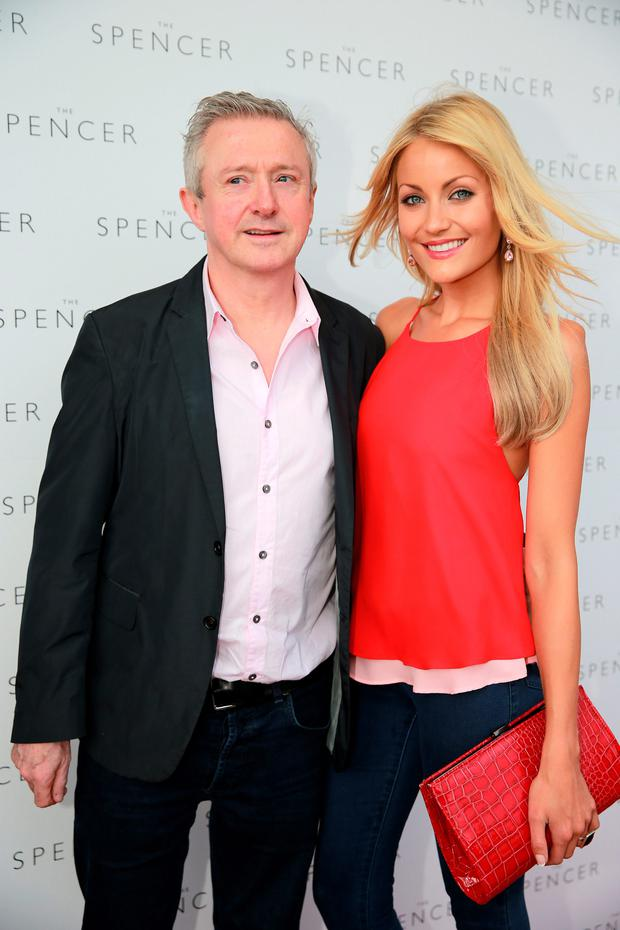 Louis Walsh and Kerrie Nicole Blanc at the opening of the Spencer Hotel in Dublin. Picture: Arthur Carron