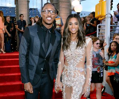 Ciara and fiance Future