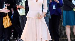 Kate in Alexander McQueen