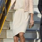 Kate looks incredible in this neutral number