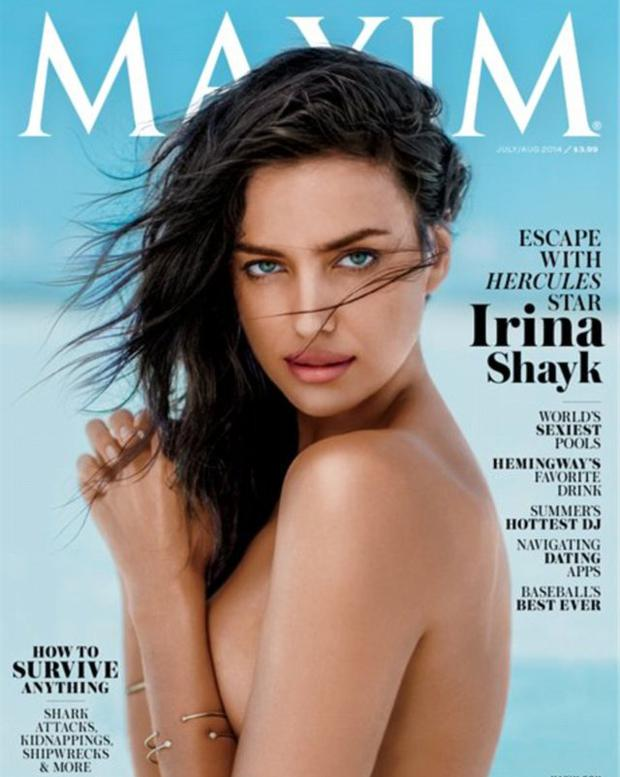 Irina Shayk for Maxim magazine