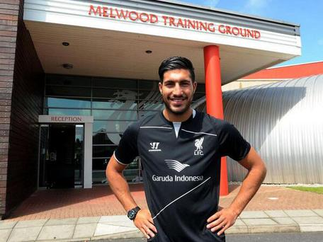 Liverpool's new signing Emre Can