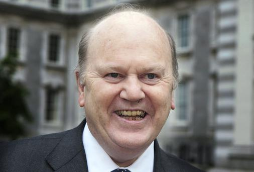 Michael Noonan,TD,the Minister for Finance
