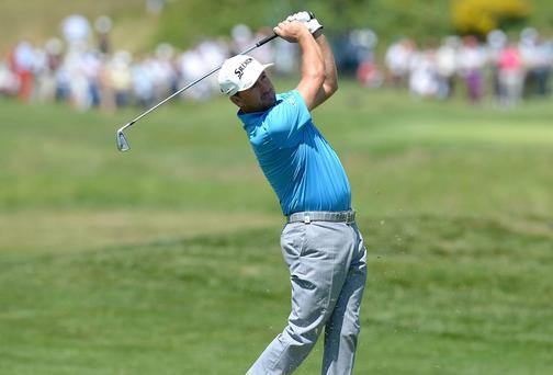 Graeme McDowell in action during the first round of the Open de France in Paris. Photo credit: Tony Marshall/Getty Images
