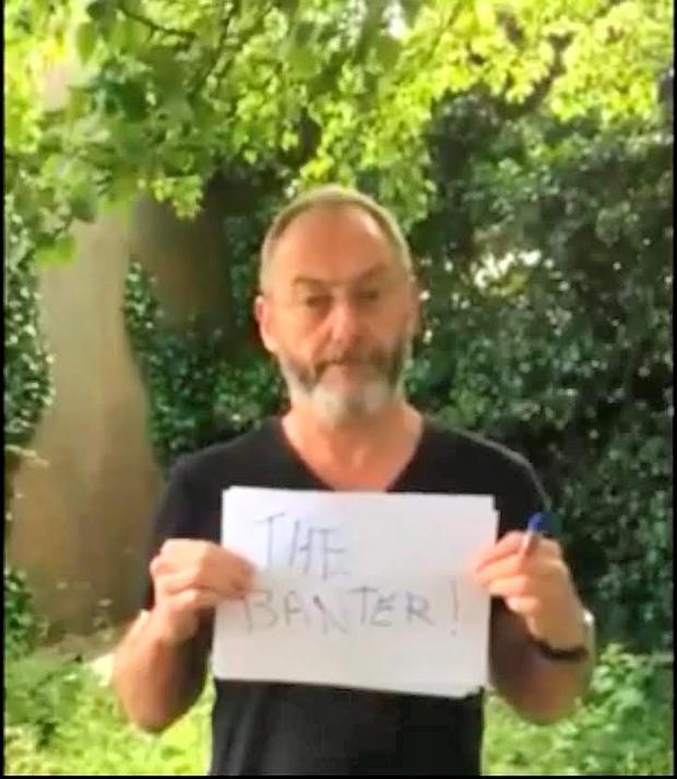 Liam Cunningham in Ryan Sheridan's 'Home' video
