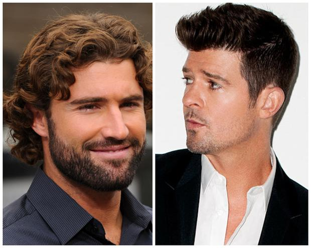 Brody Jenner (left) and Robin Thicke (right)