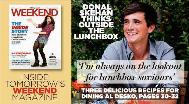 Donal Skehan thinks outside the Lunch box