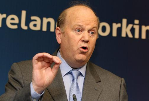 Finance spokesman Michael Noonan