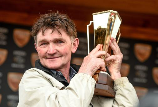 Trainer Michael Winters will hope his three horses can deliver more silverware for him at Limerick tomorrow. Photo: Ramsey Cardy / SPORTSFILE