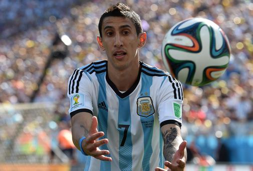 Di Maria is a target for Man Utd