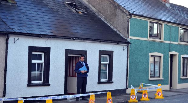 provision 050414 Scene of a fatal fire in Midelton Sat morning Pic Michael Mac sweeney/Provision
