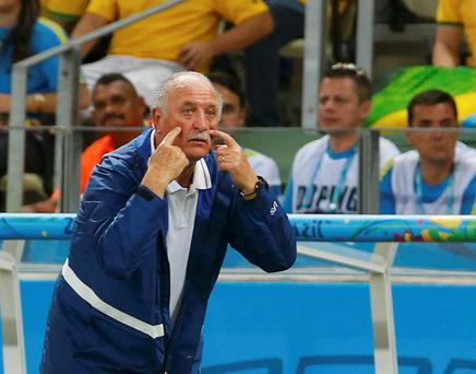 Brazil's coach Luiz Felipe Scolari has ensured that there has been no shame for the country's supporters