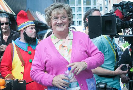STAR: Brendan O'Carroll as Mrs Brown. Photo: Collins