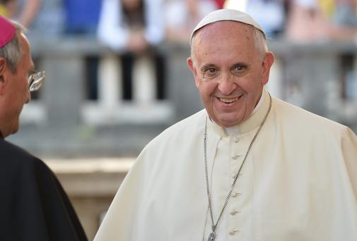 Pope Francis has encouraged people to spend Sundays with family and friends
