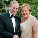 POWER COUPLE: Enda Kenny and his wife, Fionnuala O'Kelly, who was Fianna Fail's press secretary for much of the 1980s