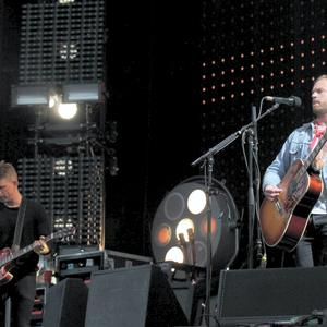 Kings of Leon performing at Marlay park. Photo: Stephen Collins/Collins Photos.