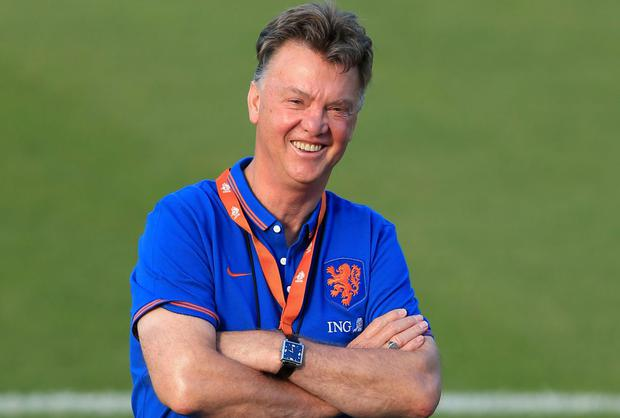 Netherlands' manager Louis van Gaal has commanded the unstinting respect of his players at the World Cup. Photo: Mike Egerton/PA Wire