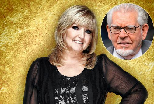 Linda Nolan has alleged Rolf Harris (inset) groped her