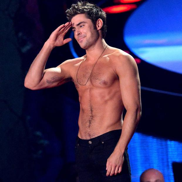 Zac has enjoyed a leading man status in Hollywood
