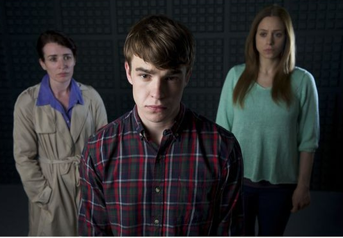 From left, Susan Lunch, Nico Mirallegro, and Jodhi May in Jimmy McGovern's drama Common