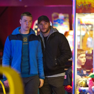 Jack Reynor and Will Poulter in Gerard Barrett's 'Glassland'
