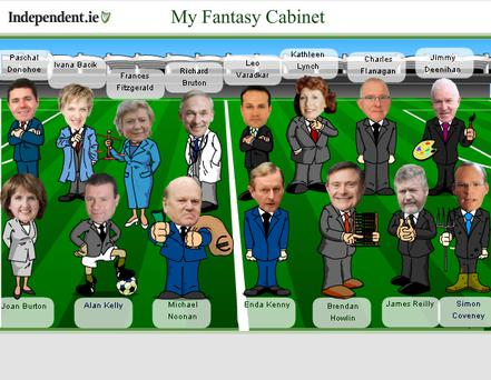 The new Cabinet - according to the latest rumours